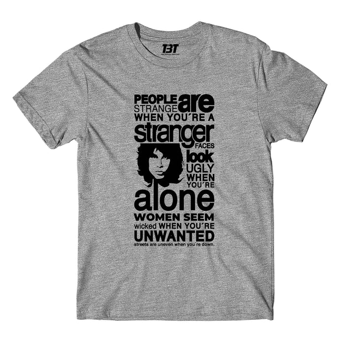 The Doors T-shirt - People Are Strange T-shirt The Banyan Tee TBT