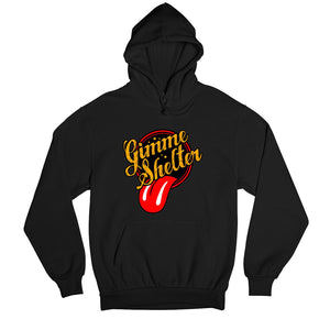 The Rolling Stones Hoodie - Gimme Shelter Hooded Sweatshirt The Banyan Tee TBT