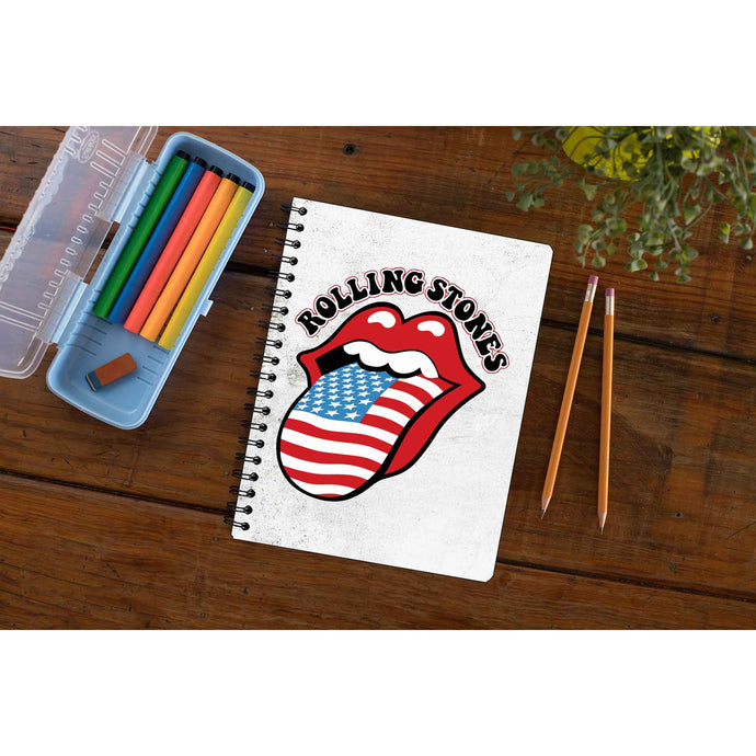 The Rolling Stones Notebook Notebook The Banyan Tee TBT