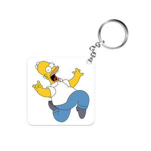 The Simpsons Keychain - Homer Simpson The Banyan Tee TBT