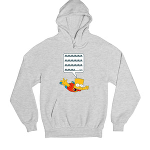 The Simpsons Hoodie - Bart Simpson Hoodie Hooded Sweatshirt The Banyan Tee TBT