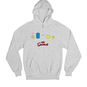 The Simpsons Hoodie Hooded Sweatshirt The Banyan Tee TBT