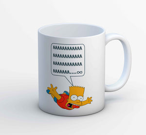 The Simpsons Mug - Bart Simpson The Banyan Tee TBT