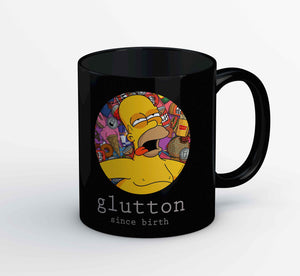 The Simpsons Mug - Glutton The Banyan Tee TBT
