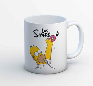 The Simpsons Mug - Los Simpson The Banyan Tee TBT