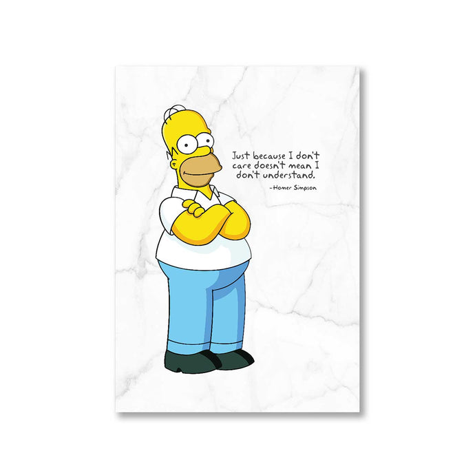 The Simpsons Poster - Homer Simpson The Banyan Tee TBT