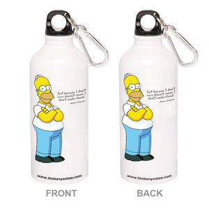 The Simpsons Sipper - Homer Simpson Quote The Banyan Tee TBT