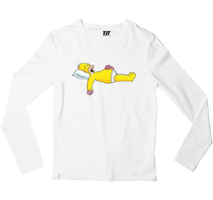 The Simpsons Full Sleeves T-shirt Full Sleeves T-shirt The Banyan Tee TBT