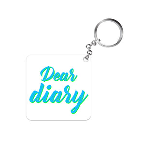 The Vampire Diaries Keychain - Dear Diary The Banyan Tee TBT
