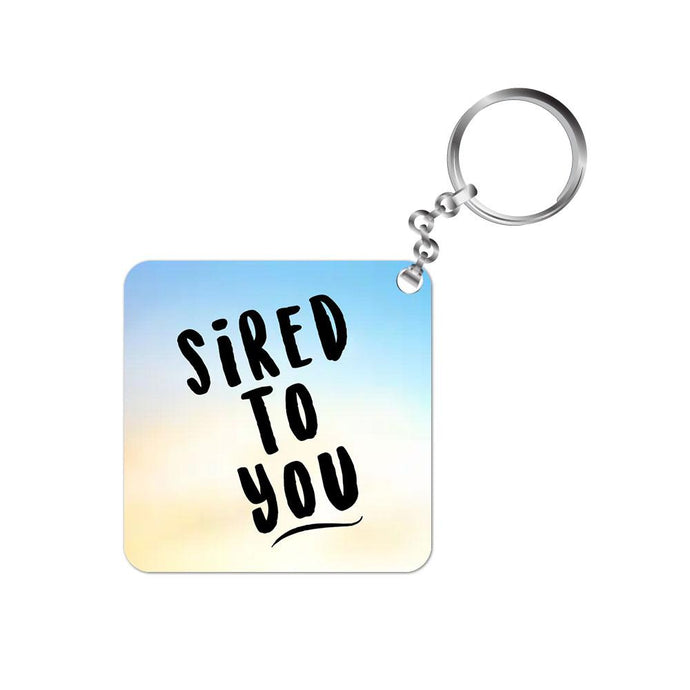 The Vampire Diaries Keychain - Sired To You The Banyan Tee TBT