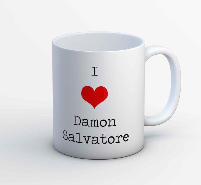 The Vampire Diaries Mug - I Love Damon The Banyan Tee TBT