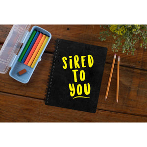The Vampire Diaries Notebook - Sired To You The Banyan Tee TBT