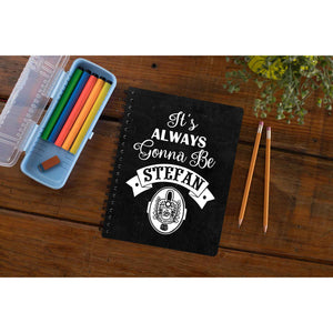 The Vampire Diaries Notebook - Stefan The Banyan Tee TBT