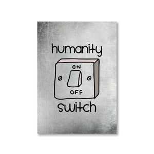 The Vampire Diaries Poster - Humanity Switch The Banyan Tee TBT
