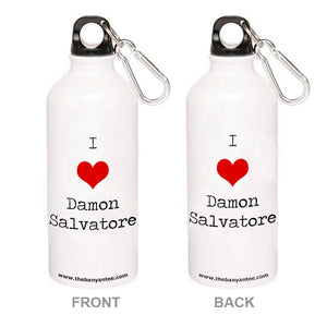 The Vampire Diaries Sipper - I Love Damon The Banyan Tee TBT