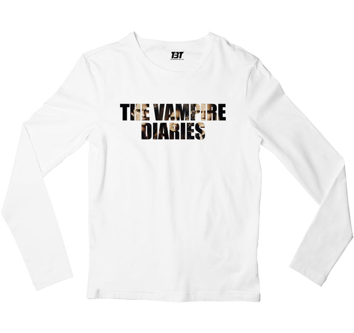 The Vampire Diaries Full Sleeves T-shirt The Banyan Tee TBT