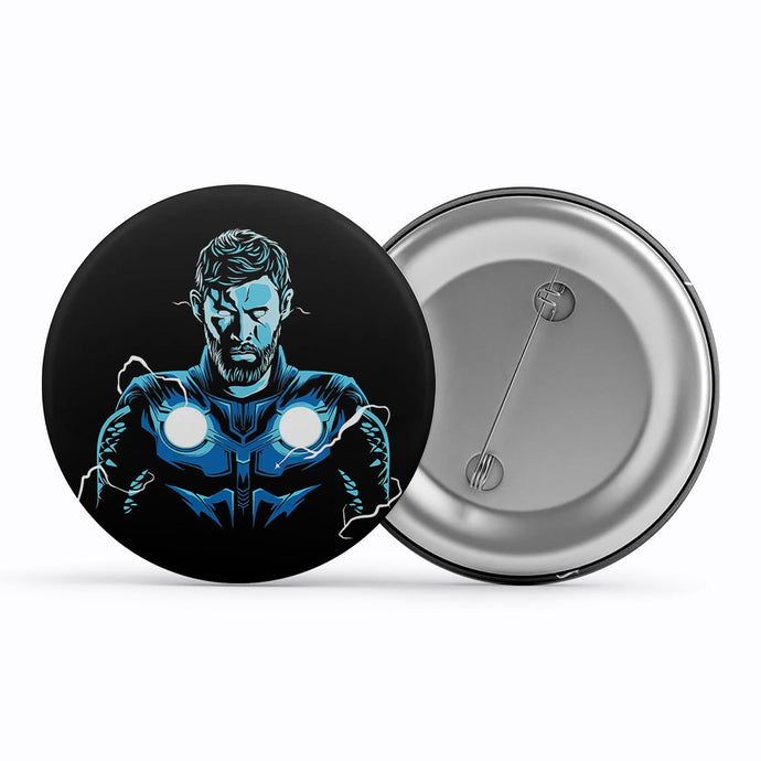 Thor Badge Metal Pin Button The Banyan Tee TBT