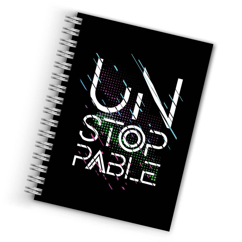 Buy Cool Unstoppable Notebook THE BANYAN TEE Notebook Quotes Notebook in INDIA