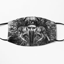 Printed Mask - Echo Within Me by Yuvraj Imaginaria