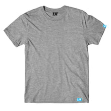 Grey Melange Plain t-shirt