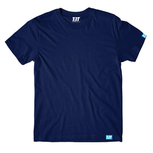Plain T-shirt - Navy Blue