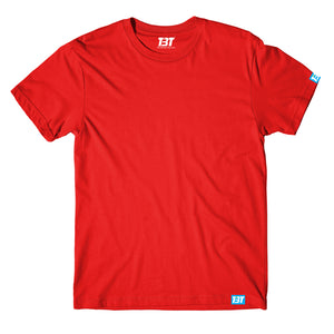 Plain T-shirt - Red