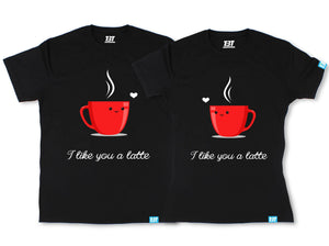 i like you a latte couple t shirt couple shirts online couple shirt cute couple shirts couple tees the banyan tee