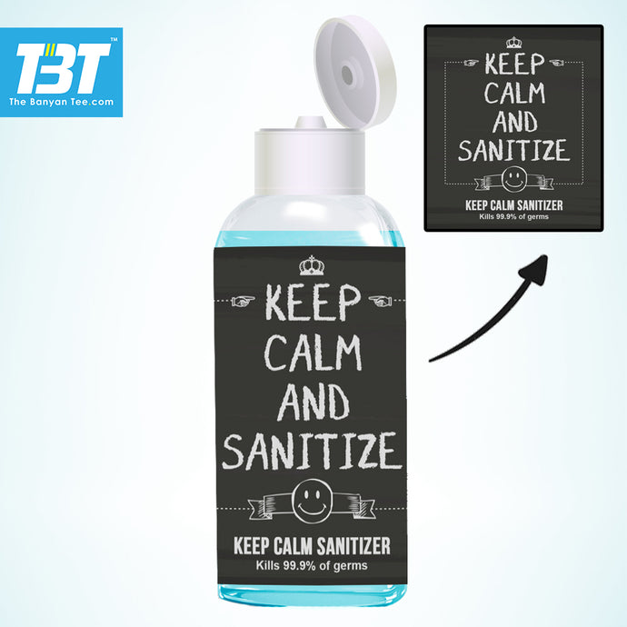 Keep Calm Sanitizer (100 ml pack)