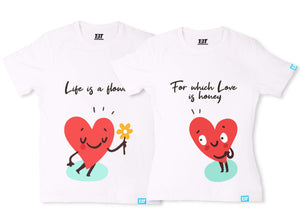 flower and honey couple t shirt couple shirts online couple shirt cute couple shirts couple tees the banyan tee