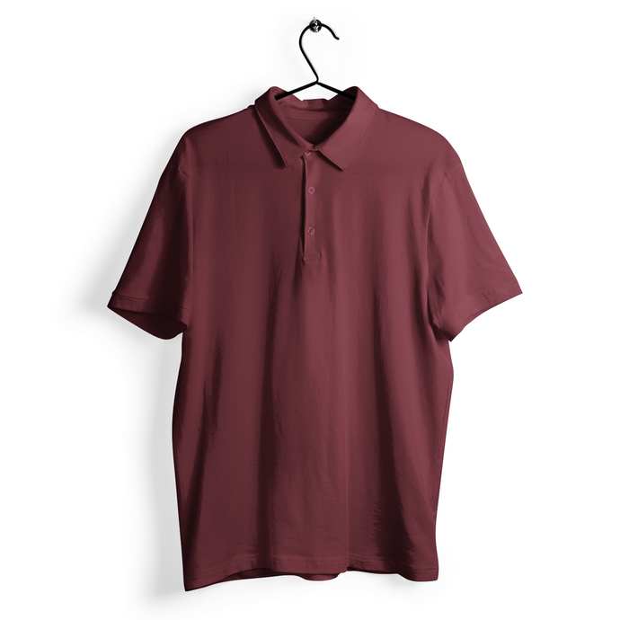 Polo T-shirt - Maroon