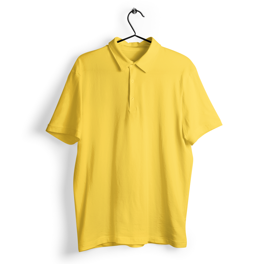Polo T-shirt - Yellow
