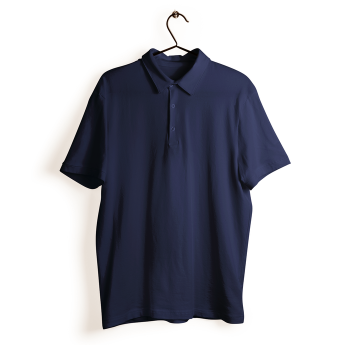 Polo T-shirt - Navy Blue