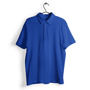 Polo T-shirt - Royal Blue