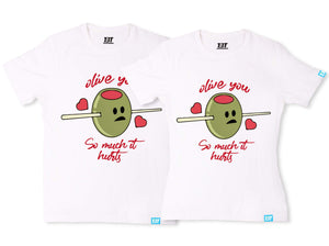 olive you couple t shirt couple shirts online couple shirt cute couple shirts couple tees the banyan tee