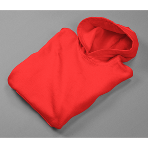 Plain hoodie cotton fleece plain hoodie red hoodie by the banyan tee INDIA