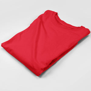 red full sleeves t shirts by the banyan tee plain full sleeves india