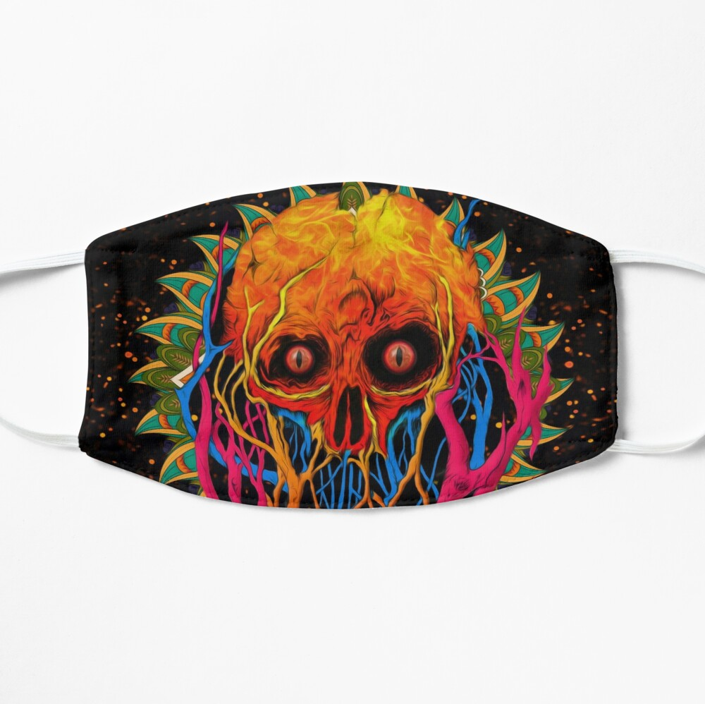 printed mask creative cool stylish cotton drifit multicolor yuvraj imaginaria india the banyan tee