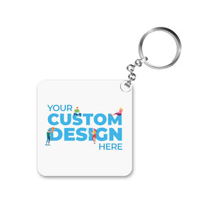 custom keychain customziable key ring tbt custom the banyan tee