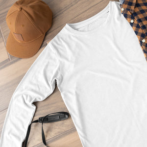 Full Sleeves T-shirt - White