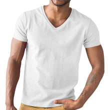 V-neck T-shirt - White