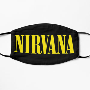 Printed Mask - Nirvana