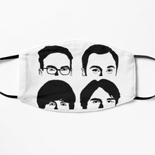 Printed Mask - The Big Bang Theory
