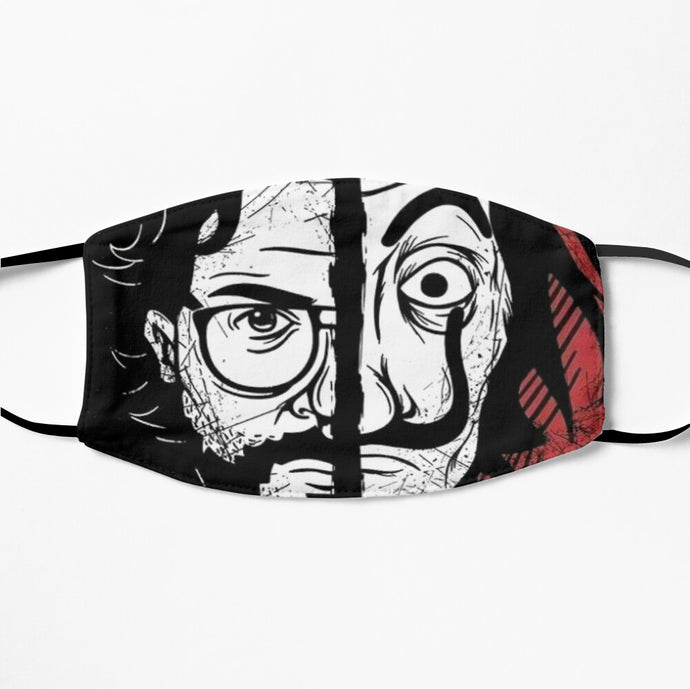 Printed Mask - Money Heist
