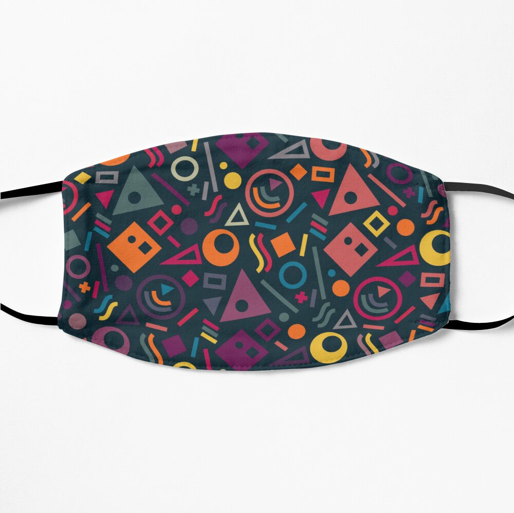 Printed Mask - Geometric Pattern