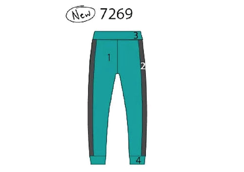 MW7269 Men's Cheer Jogger Pants