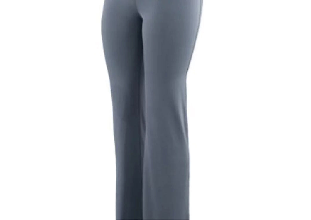 Wide Waist Poly Spandex Pants