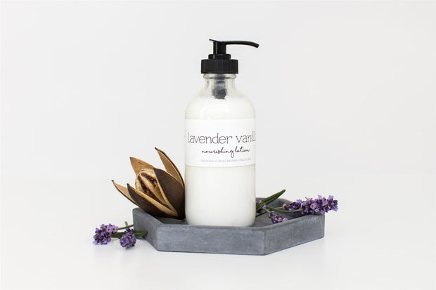 Lavender Vanilla Natural Body Lotion 1