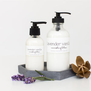 Lavender Vanilla Natural Body Lotion