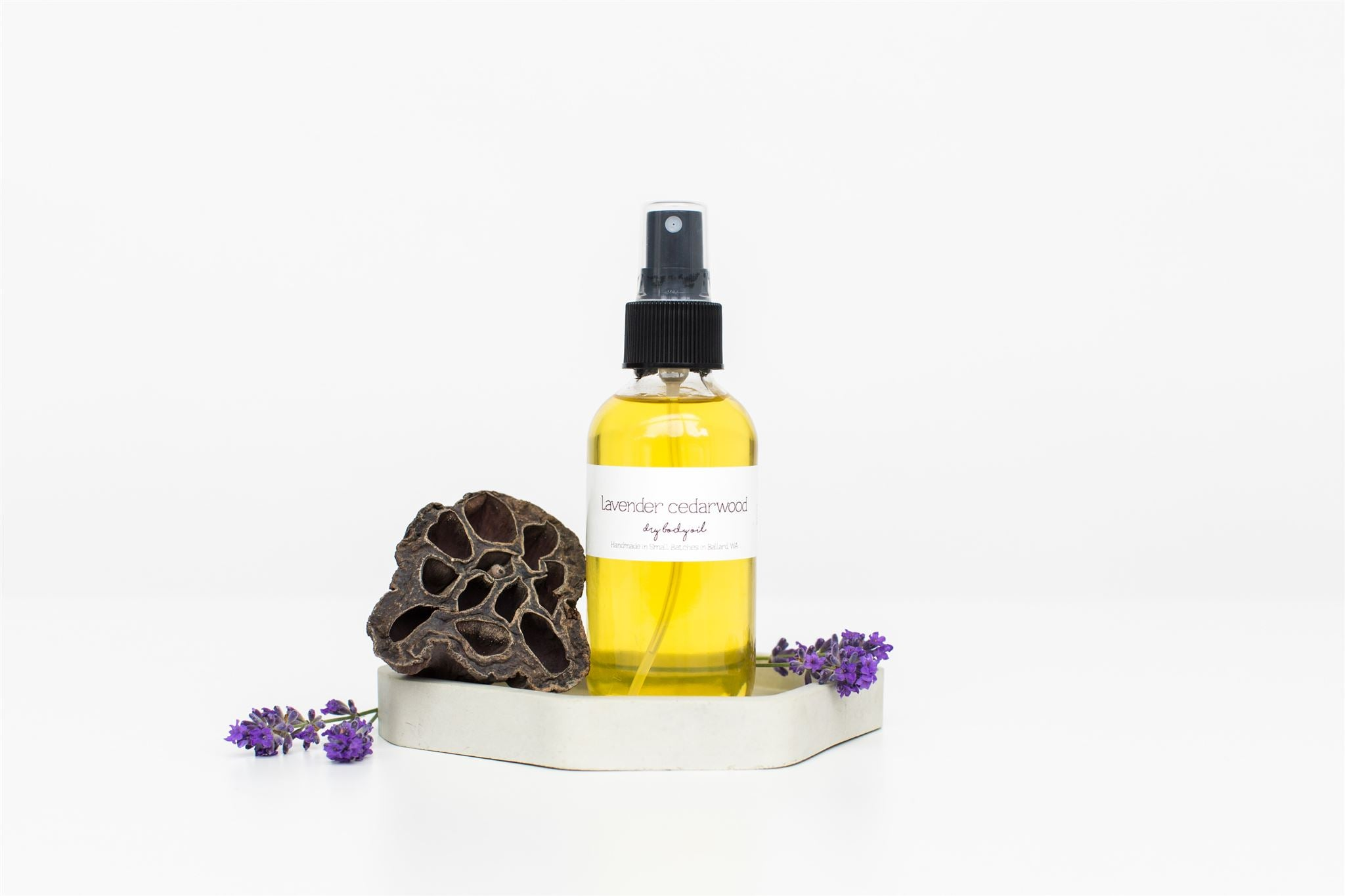 Lavender and Cedarwood Body Oil Spray