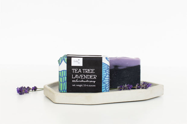 Tea Tree Lavender Soap Bar 1